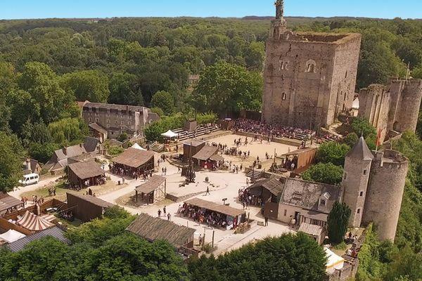 La forteresse de Montbazon.