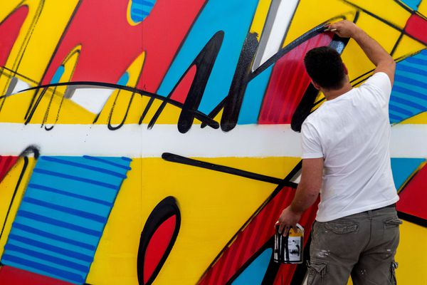 A Lyon, une quarantaine d'artistes ont investi le 61 rue de Créqui pour laisser libre cours à leur imagination