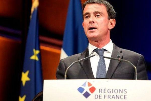 Manuel Valls au Congrès de Reims