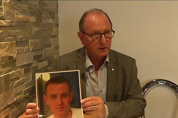 Sylvain Debeure a perdu son fils le 27 septembre 2015 à Concarneau.