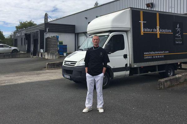 Le traiteur Philippe Le Manac'h travaille depuis 27 ans pour les Vieilles Charrues