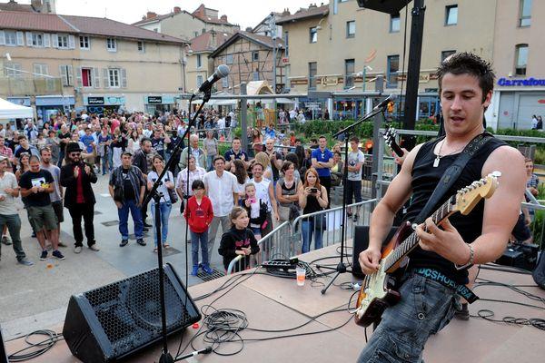 Fête de la Musique à Bourg-en-Bresse, le 21 juin 2015