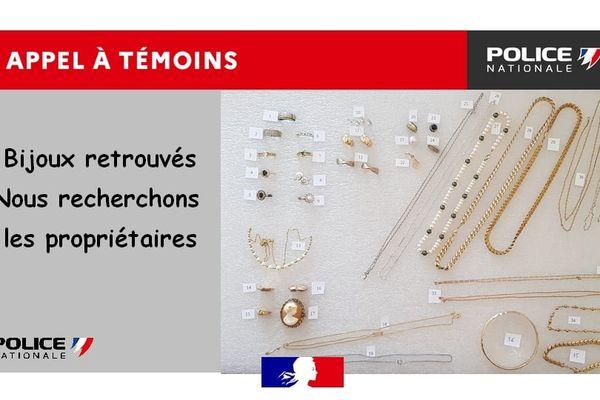 La Police de la Drôme recherche les propriétaires de bijoux retrouvés dans l'eau d'un canal à Valence.