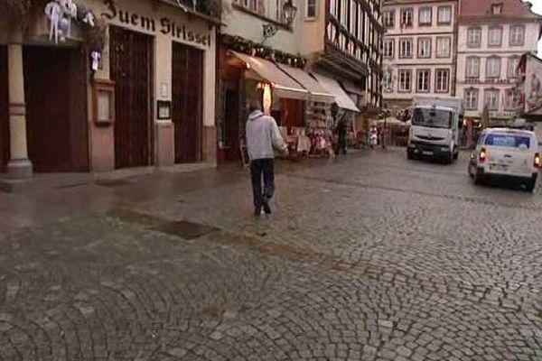 Le centre-ville de Strasbourg