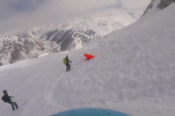 Laure Chappaz, skieuse expérimentée, a été emportée par une avalanche le 22 mars 2021 sur le massif de Bellevarde, en Savoie.