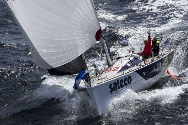 Benjamin Dutreux et Frédéric Denis, sur Sateco Team Vendée Formation