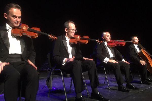 Les quatre gentlemen du Mozart Group.
