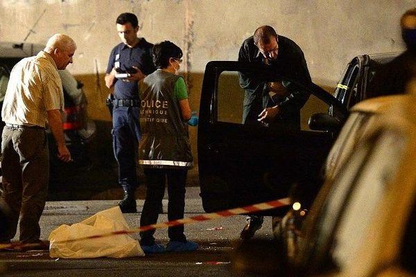 scène de crime.Marseille 15e Arrondissement