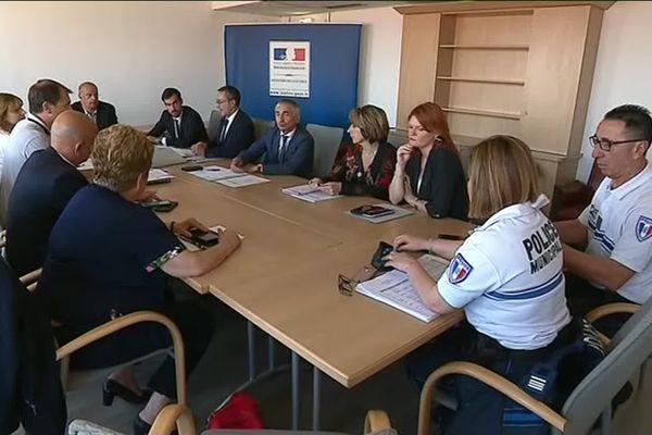 Ville de Marseille, Métropole, Sécurité Publique, tous les services sont réunis pour lutter contre ce phénomène