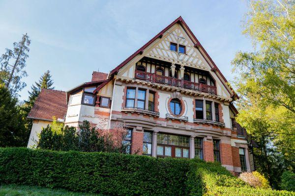 La villa des sapins à Valdoie dans le Territoire de Belfort accueille des gens en difficulté.