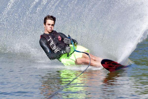 A 14 ans, Pierre-Louis Germain est médaille de bronze aux championnats d'Europe de ski nautique 2021