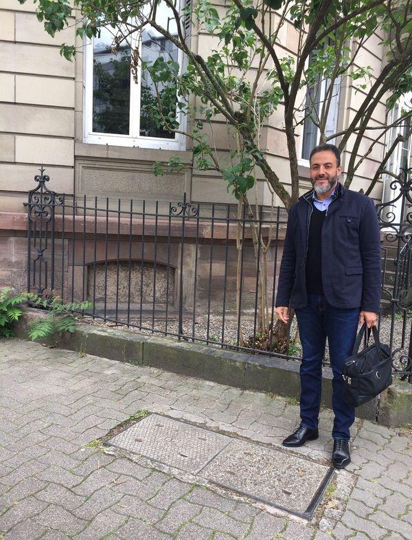 Khalid Jabir est conseiller immobilier depuis 16 ans. Pour lui, le marché immobilier dans les quartiers de l'Orangerie et des Contades reste à flux tendu malgré la crise sanitaire.