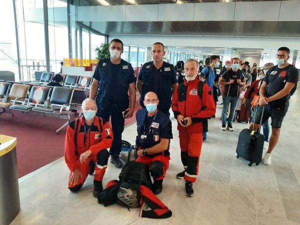 Les deux pompiers volontaires caennais sont prêts à s'envoler pour Haïti.
