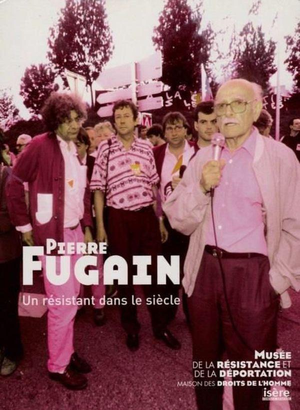"""Affiche """"Pierre Fugain, un résistant dans le siècle"""""""