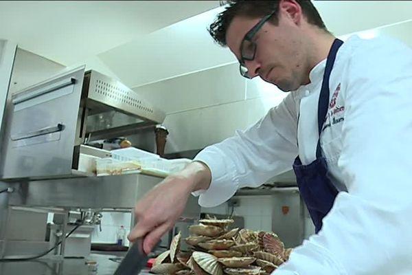Le jeune chef étoilé Alexandre Baumard sera l'invité du 19/20 de France 3 Aquitaine.