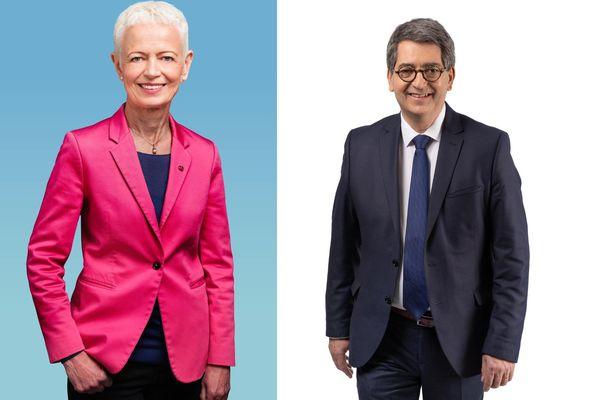 Brigitte Klinkert (LREM) et Jean Rottner (LR) refusent un accord avant le 1er tour. Mais auront-ils le choix le soir du 20 juin ?