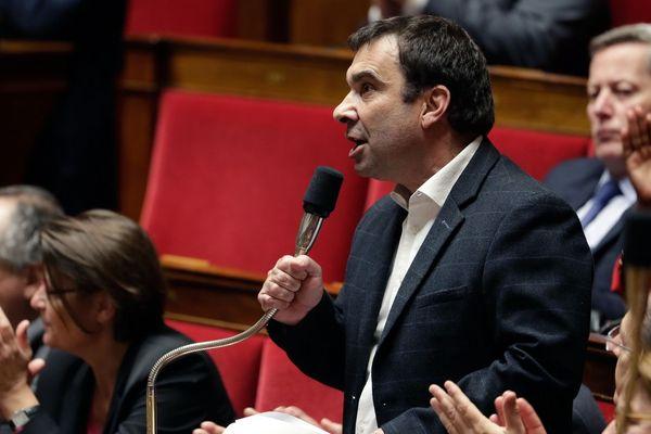 Le député du Loiret, Richard Ramos, lors des questions au gouvernement à l'Assemblée nationale, en janvier 2019.