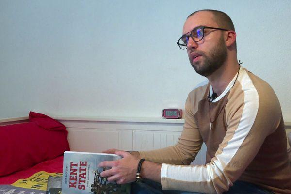 Sébastien Lotte, membre du jury Prix du Public France Télévisions au FIBD