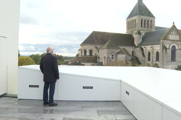 Belvédère de l'abbaye de Fleury à St-Benoit-sut-Loire