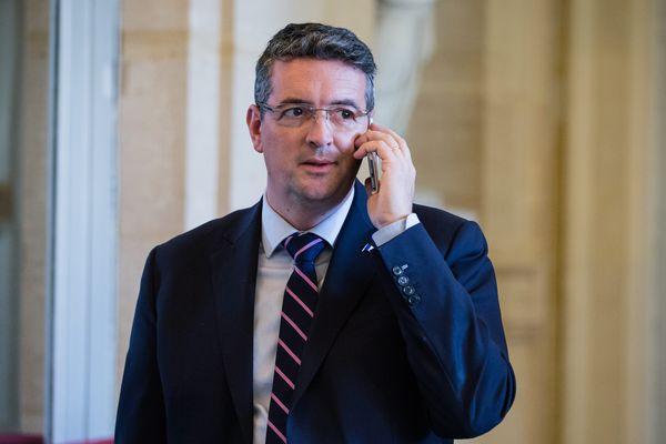 Yannick Moreau, élu maire de la commune nouvelle des Sables d'Olonne, le 2 janvier 2019