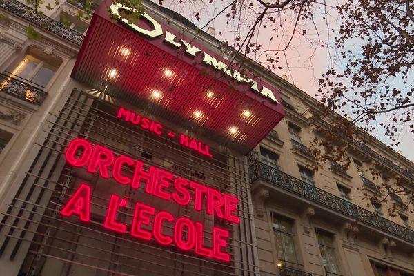 L'Olympia a ouvert ses bras aux élèves de la classe orchestre de Parsac en Creuse
