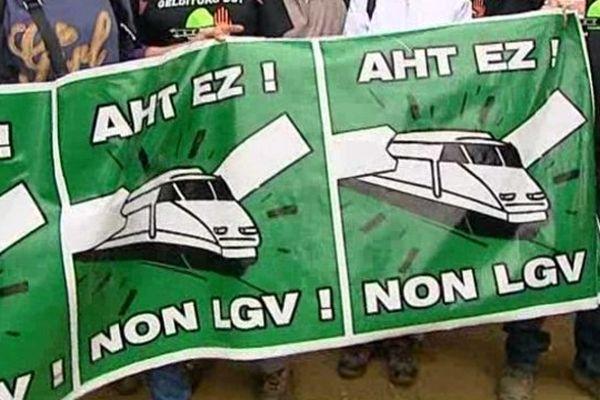 Manifestation des anti-LGV