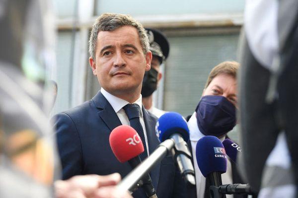 Gérald Darmanin à Marseille, le 5 mai 2021
