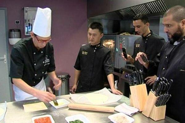 On vient même de Chine pour apprendre à cuisiner le kebab dans ce centre de formation situé à Saint-Lô