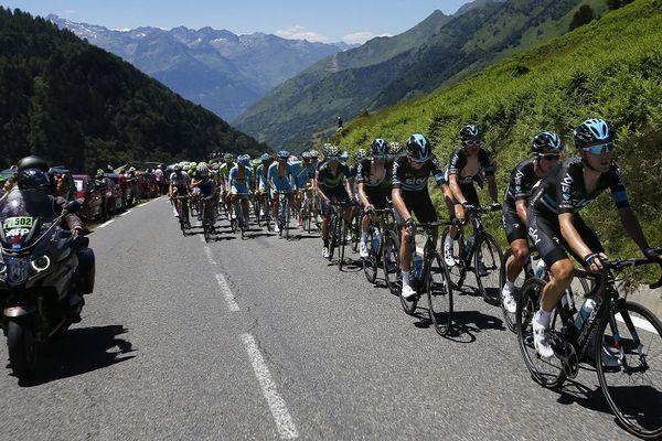 Le Tour de France en 2016 dans les Pyrénées