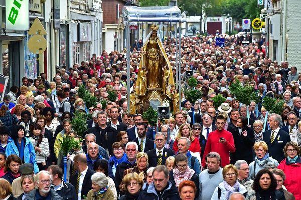 Le tour du Saint-Cordon à Valenciennes l'an dernier.