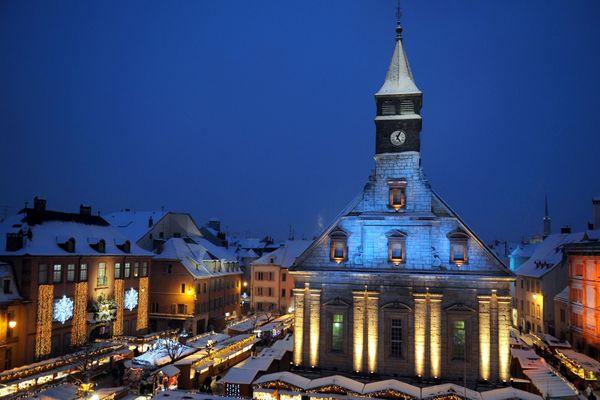 Face au Covid-19, le pays comtois sera l'invité d'honneur de cette 34ème édition des Lumières de Noël à Montbéliard.