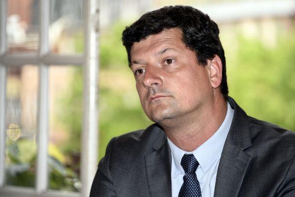 Florian Bouquet (LR), président du conseil départemental du Territoire de Belfort