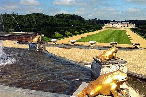 Le château du Champ de Bataille au Neubourg est la propriété du décorateur star, Jacques Garcia.