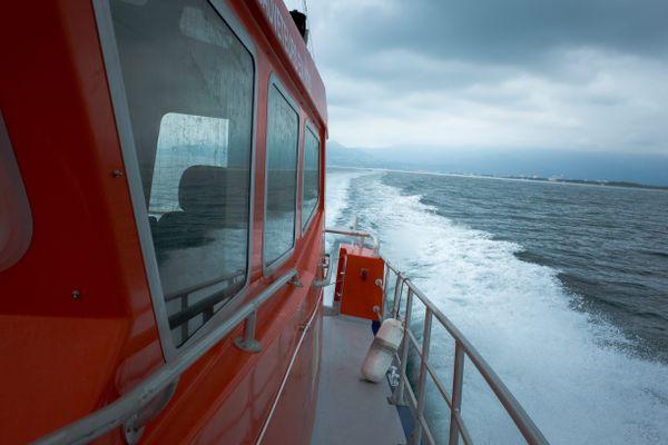 Un bateau de la SNSM a été dépêché pour tenter de sauver le jeune apnéiste.