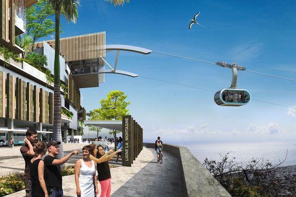 Le groupe savoyard MND va participer à la construction d'un téléphérique urbain à La Réunion.