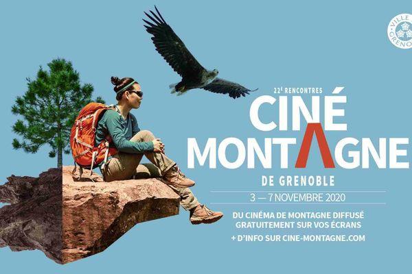 Affiche des 22e Rencontres Ciné montagne