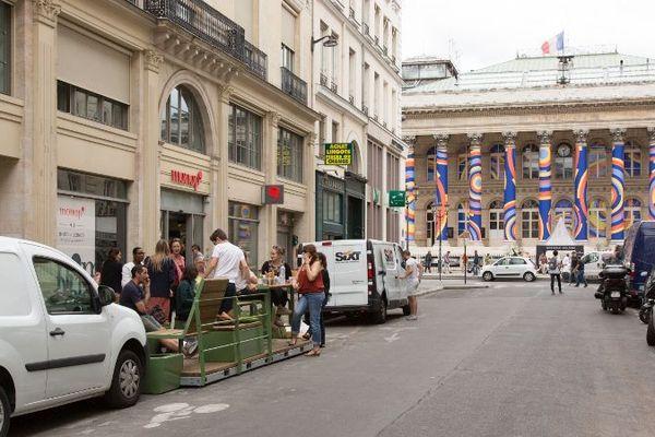 """4 """"parklets"""" seront installés à Paris d'ici octobre 2019."""