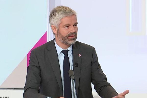 """Laurent Wauquiez sur le plateau de l'émission """"Dimanche en Politique"""" sur France 3 Alpes"""