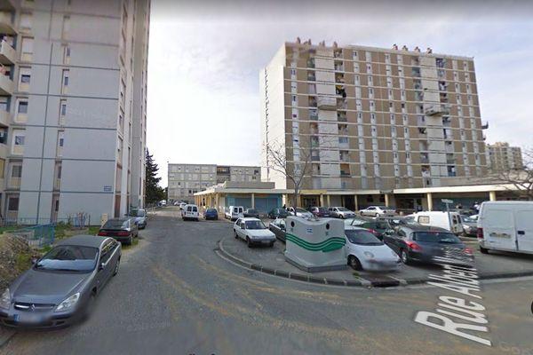 La cité des Oliviers A, dans le 13e arrondissement de Marseille