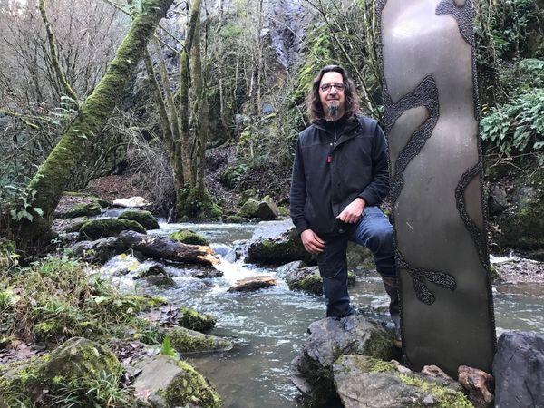 Ludovic Liaigre (chaudronnier-métallier) - créateur du monolithe du Puits d'Enfer
