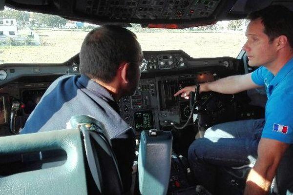 Thomas Pesquet à bord de l'avion Zéro-G