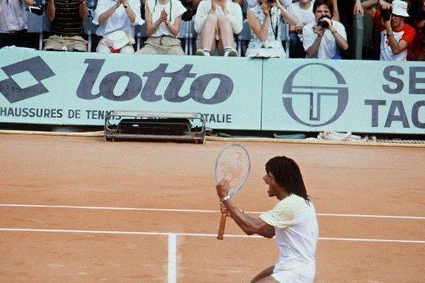 Yannick Noah, Roland Garros... Souvenir d'un mois de juin 1983...