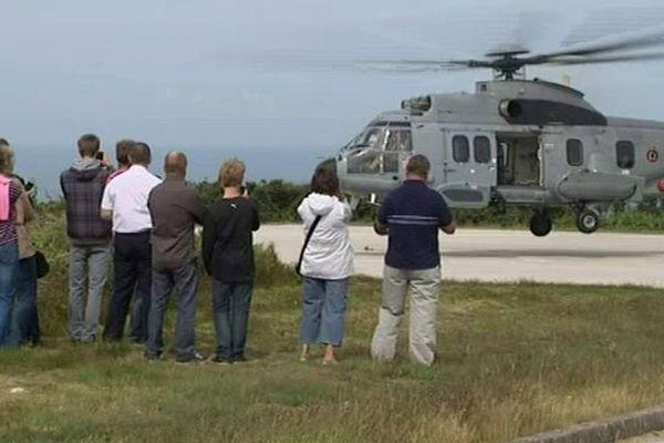 Des présentations d'hélicoptères sont au programme de la journée porte ouverte du Cross de Jobourg
