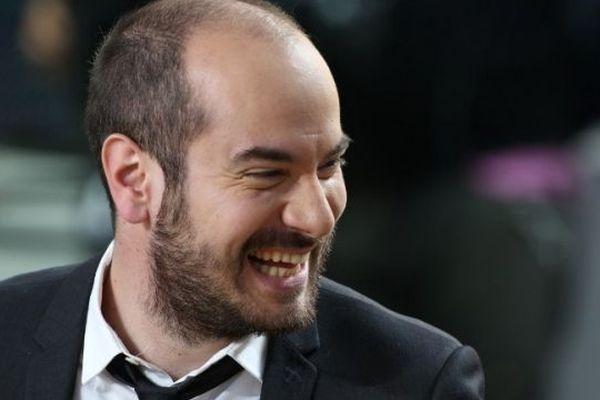 """Kyan Khojandi, le personnage de """"Bref"""", ici à Cannes en mai 2012"""