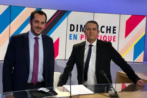 Nicolas Bay (Rassemblement National) est l'invité de Dimanche en politique ce 17 janvier 2021