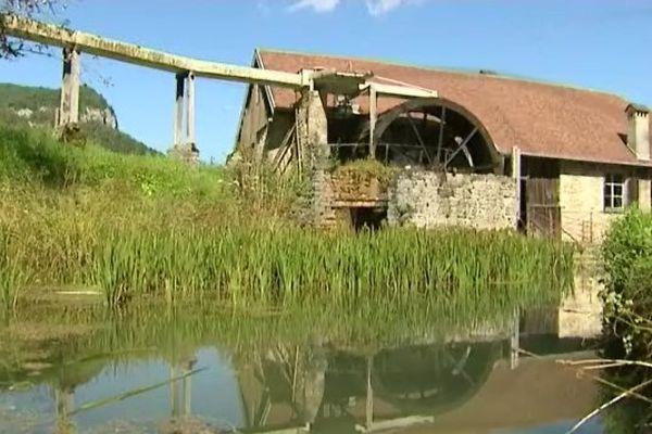 La taillanderie de Nans-sous-Sainte-Anne dans le Doubs