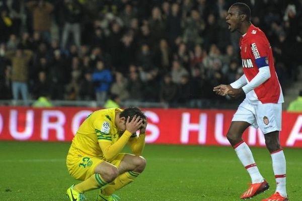 Bedoya du FC Nantes.. à terre.