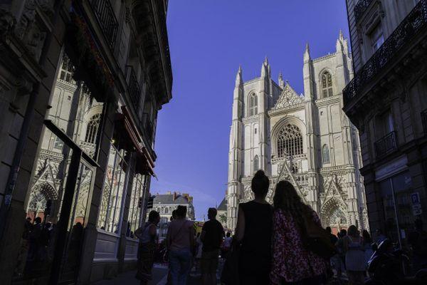 La cathédrale de Nantes après l'incendie du 18 juillet 2020