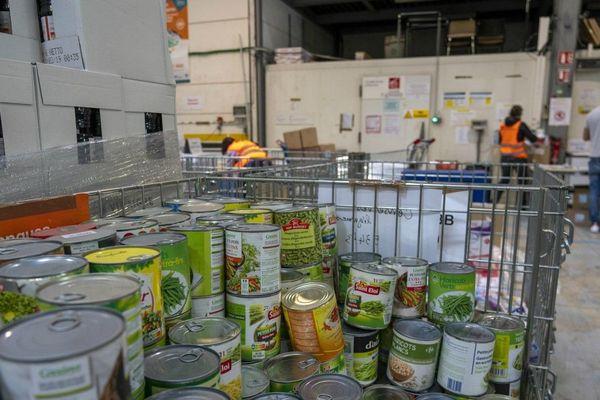 Les banques alimentaires appellent aux dons pendant le confinement. (Photo d'illustration)