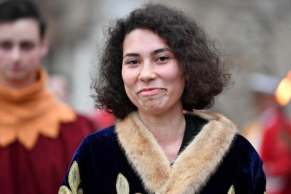 Mathilde Edey Gamassou, la Jeanne d'Arc 2018.
